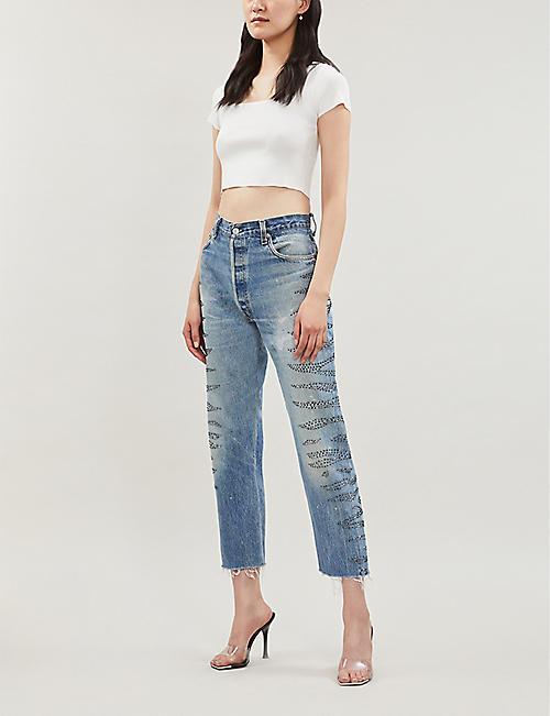 0a5a513224c Crop tops - Tops - Clothing - Womens - Selfridges | Shop Online