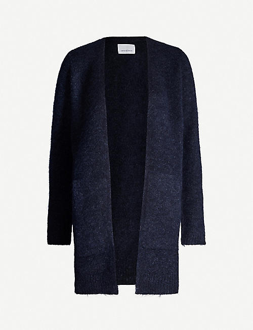 SAMSOE & SAMSOE Eta stretch-knit cardigan