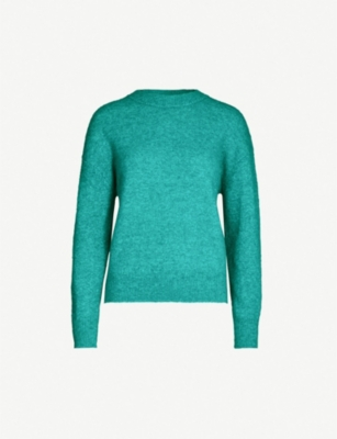 SAMSOE & SAMSOE Anour stretch-wool knit jumper