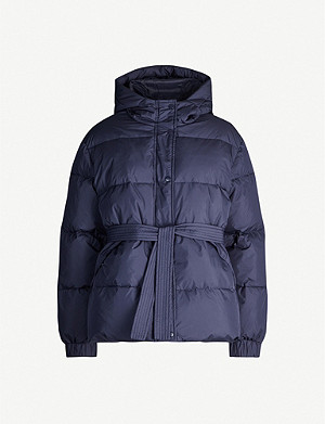 SAMSOE & SAMSOE Asmine quilted shell-down hooded jacket