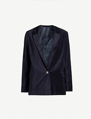 SAMSOE & SAMSOE Caren regular-fit velvet jacket