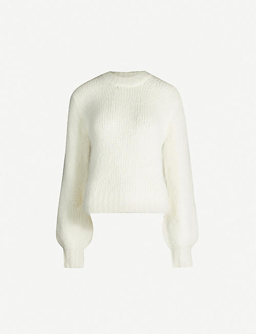 SAMSOE & SAMSOE Abby wool and alpaca-blend jumper