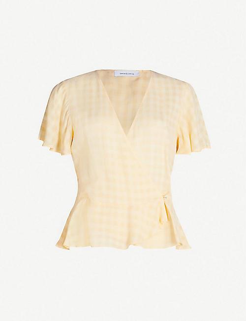 8132ed5ffff4 Short sleeved - Tops - Clothing - Womens - Selfridges | Shop Online