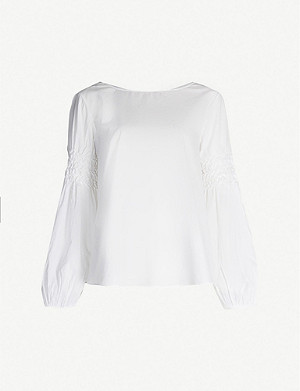 MERLETTE Miombo relaxed-fit cotton blouse