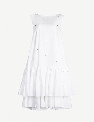 MERLETTE Cevennes sleeveless cotton mini dress