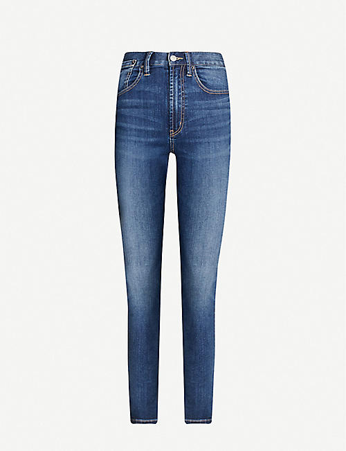 HAPPY X NATURE Skinny high-rise jeans