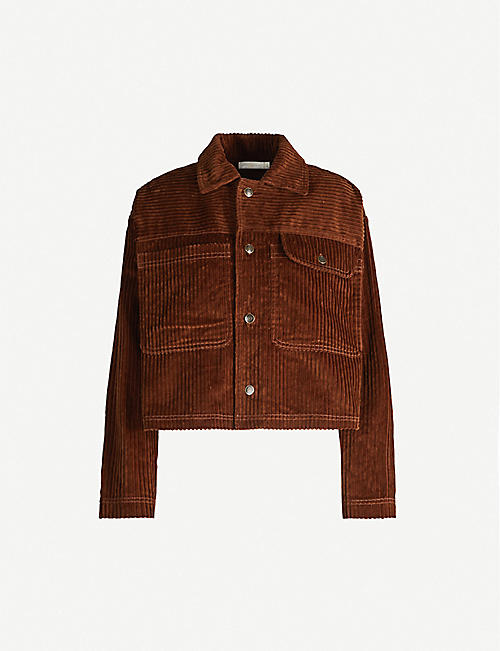 HAPPY X NATURE Adventure relaxed-fit cotton-corduroy jacket