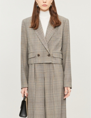 Tempo Recycled Polyester Tweed Blazer by Happy X Nature