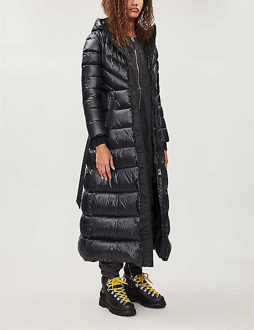 MACKAGE Calina maxi-length quilted shell-down coat