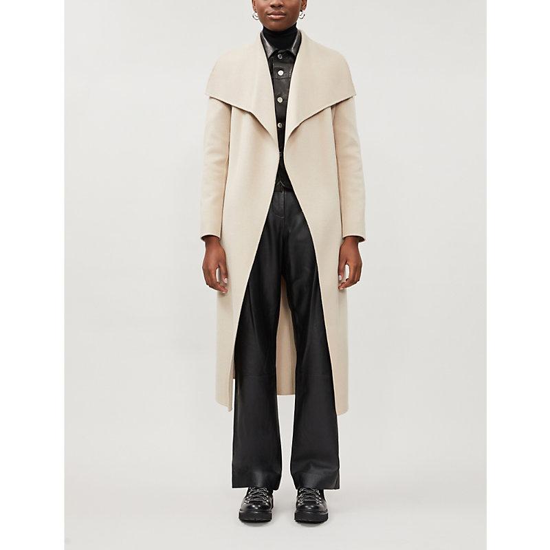 Mackage Coats MAIR BELTED SHAWL-LAPEL WOOL COAT