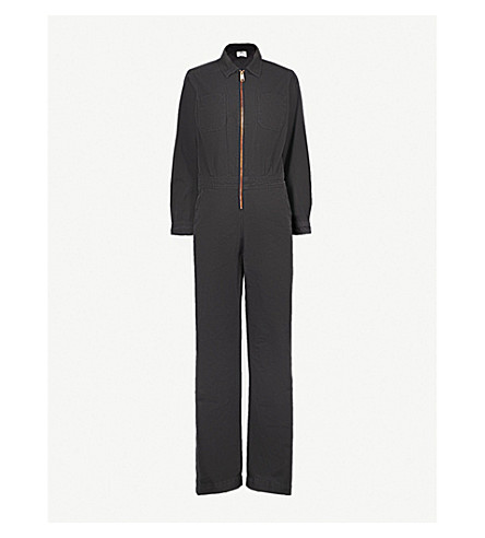 cc7d25129d7 TOMMY HILFIGER Tommy Hilfiger x Gigi Hadid cotton jumpsuit (Frost+grey