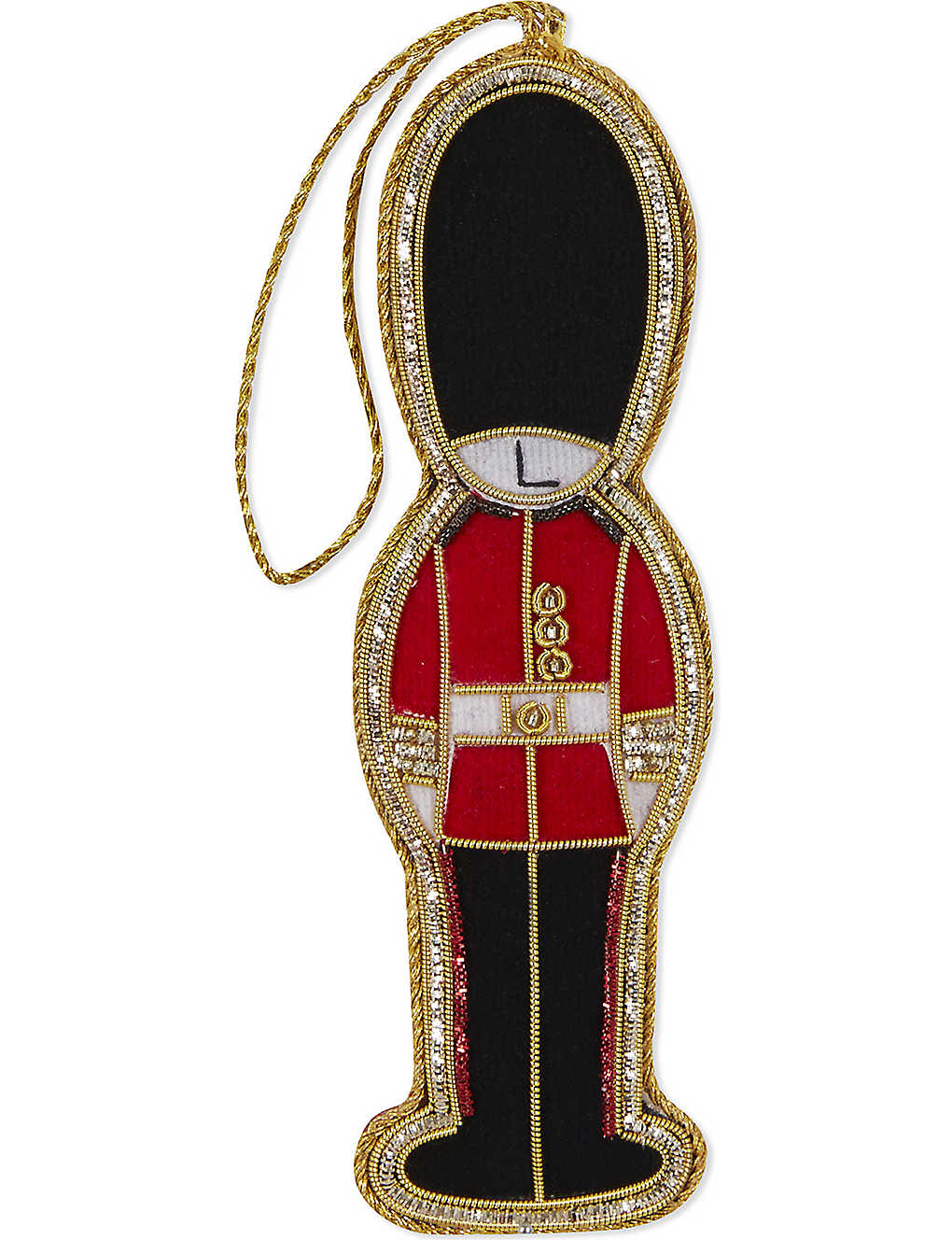 ST NICHOLAS: London gold guardsman