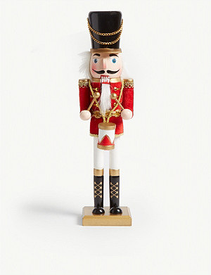 CHRISTMAS Drummer wooden nutcracker 38cm