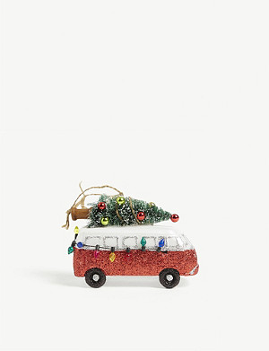 CHRISTMAS Campervan Christmas ornament