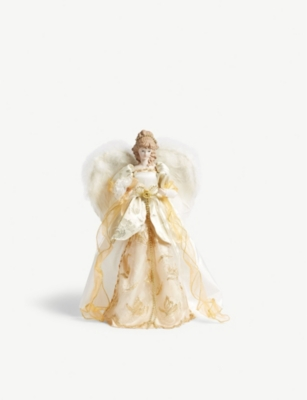 CHRISTMAS Angel Christmas tree topper 42cm