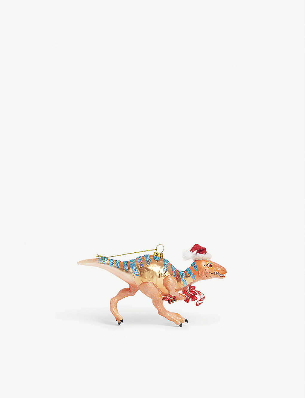 CHRISTMAS: Dinosaur tree decoration