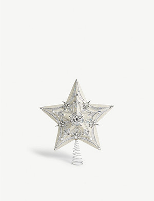 CHRISTMAS Star Christmas tree topper 30cm