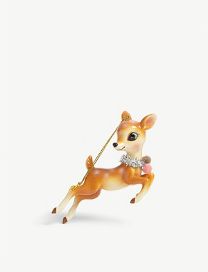 CHRISTMAS Deer Christmas tree ornament 12cm