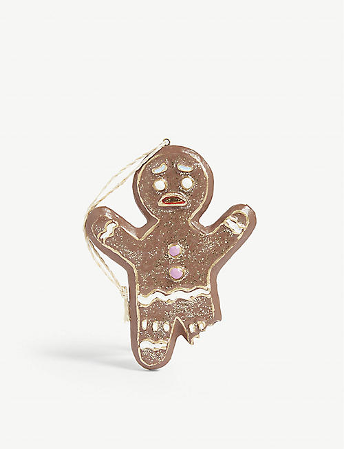 CHRISTMAS Gingerbread man Christmas tree ornament 11cm
