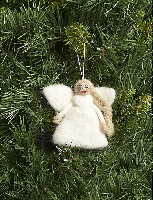 CHRISTMAS Christmas Angel felt tree decoration or topper