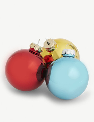CHRISTMAS Christmas baubles set of 20
