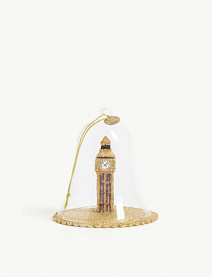 CHRISTMAS Big Ben dome Christmas tree ornament 9.5cm