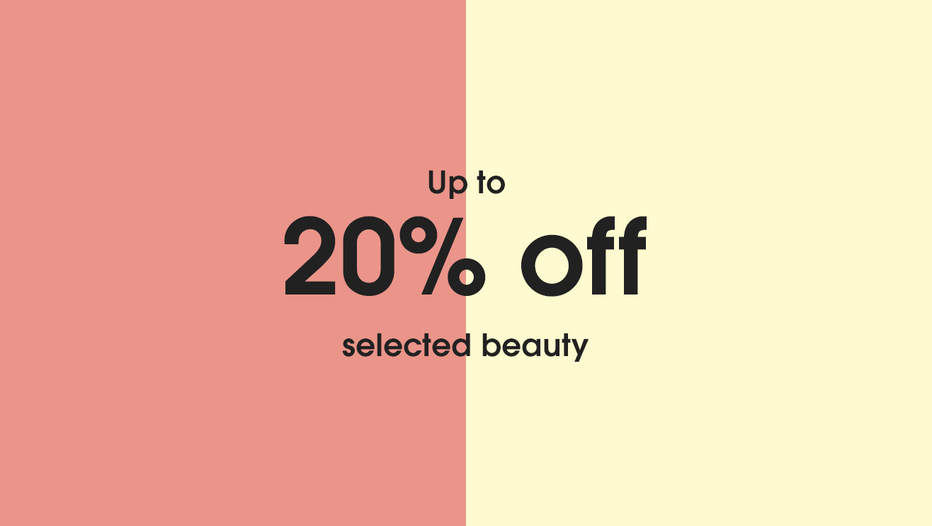 20 percent off beauty