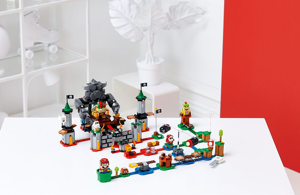 Action-packed adventures with LEGO