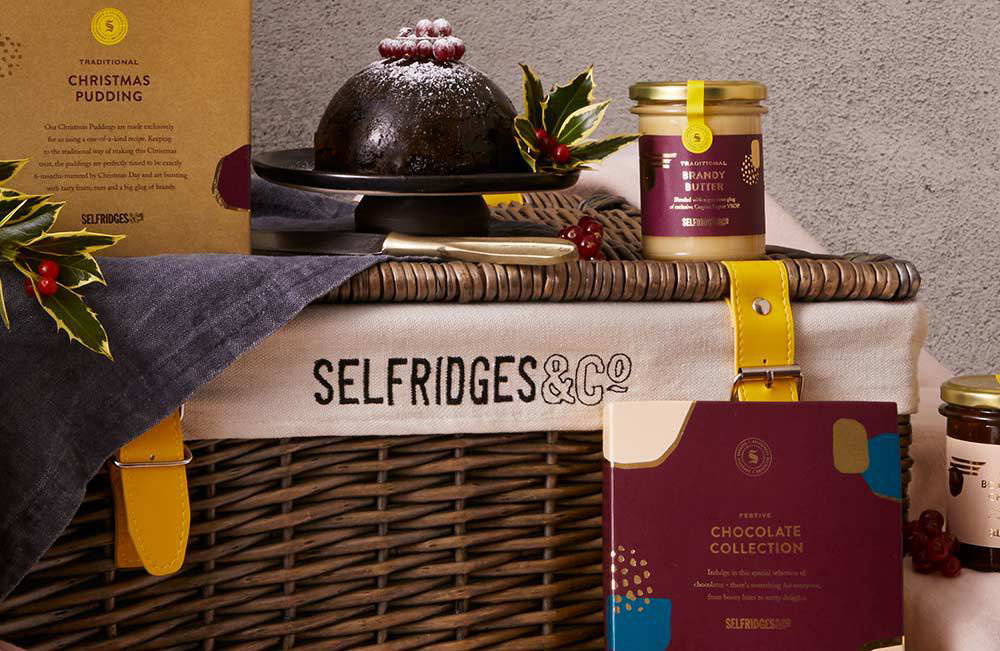 Selfridges礼物篮