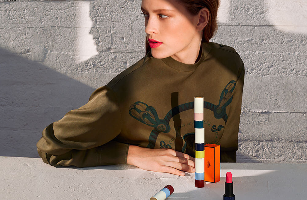 The Rouge Hermès lipstick collection