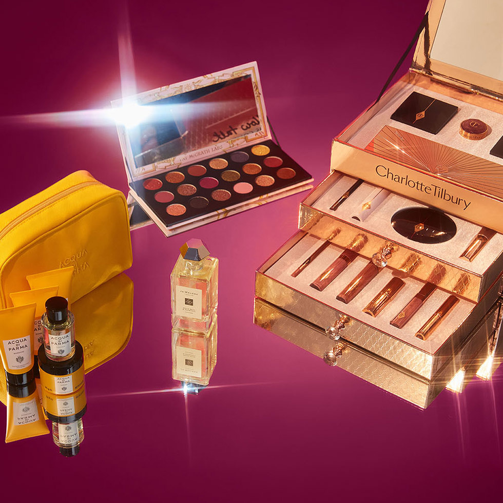 Our top 10 exclusive beauty gifts
