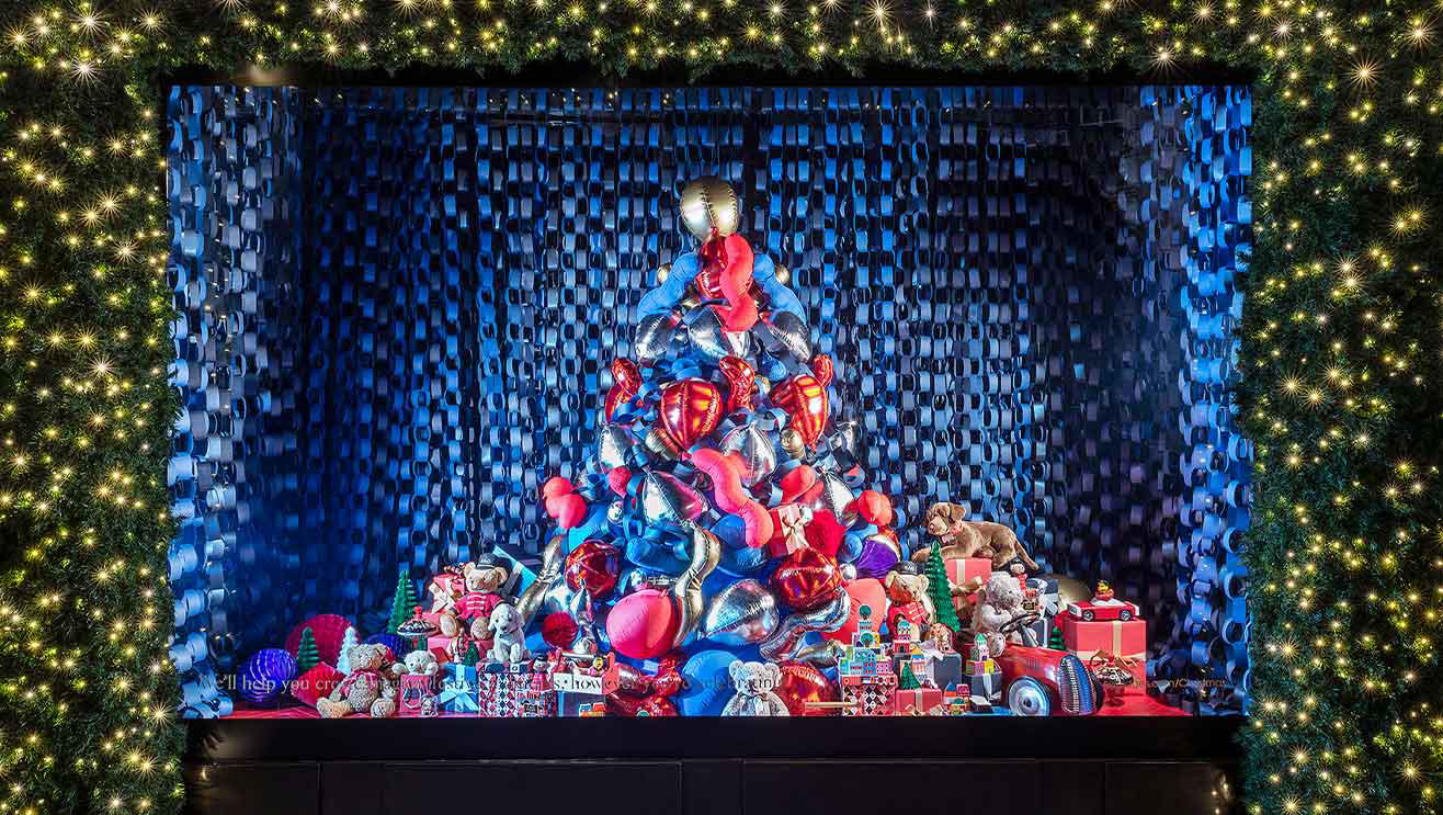 Explore (and shop) our Christmas windows