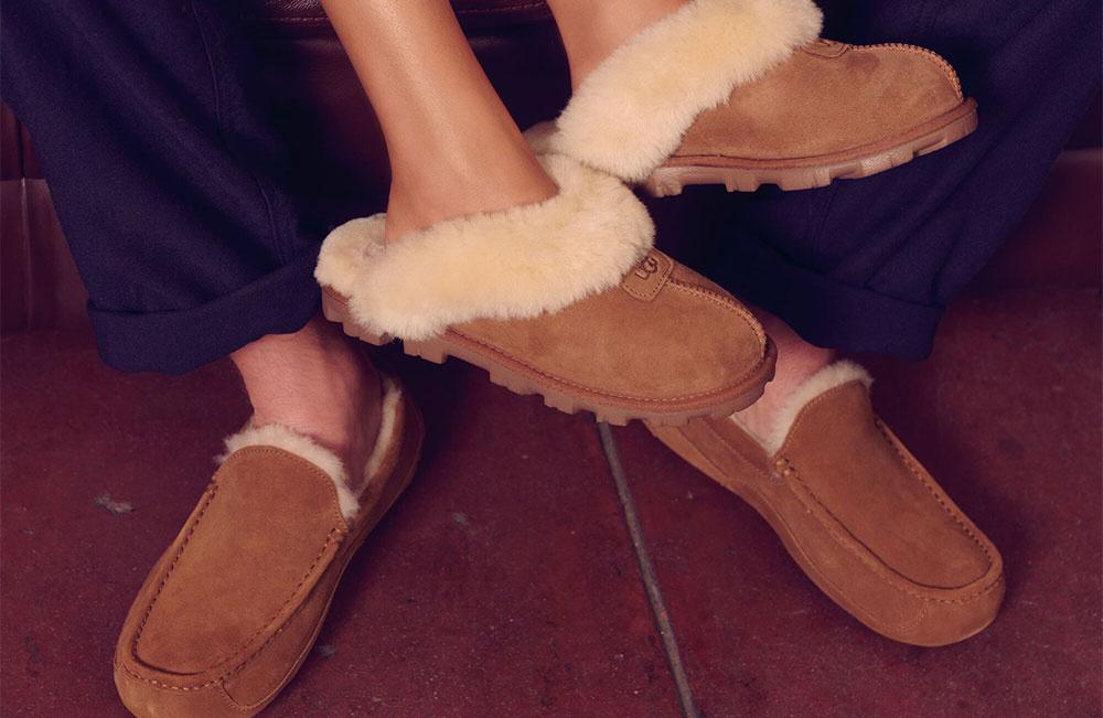 TRENDING: COSY FOOTWEAR