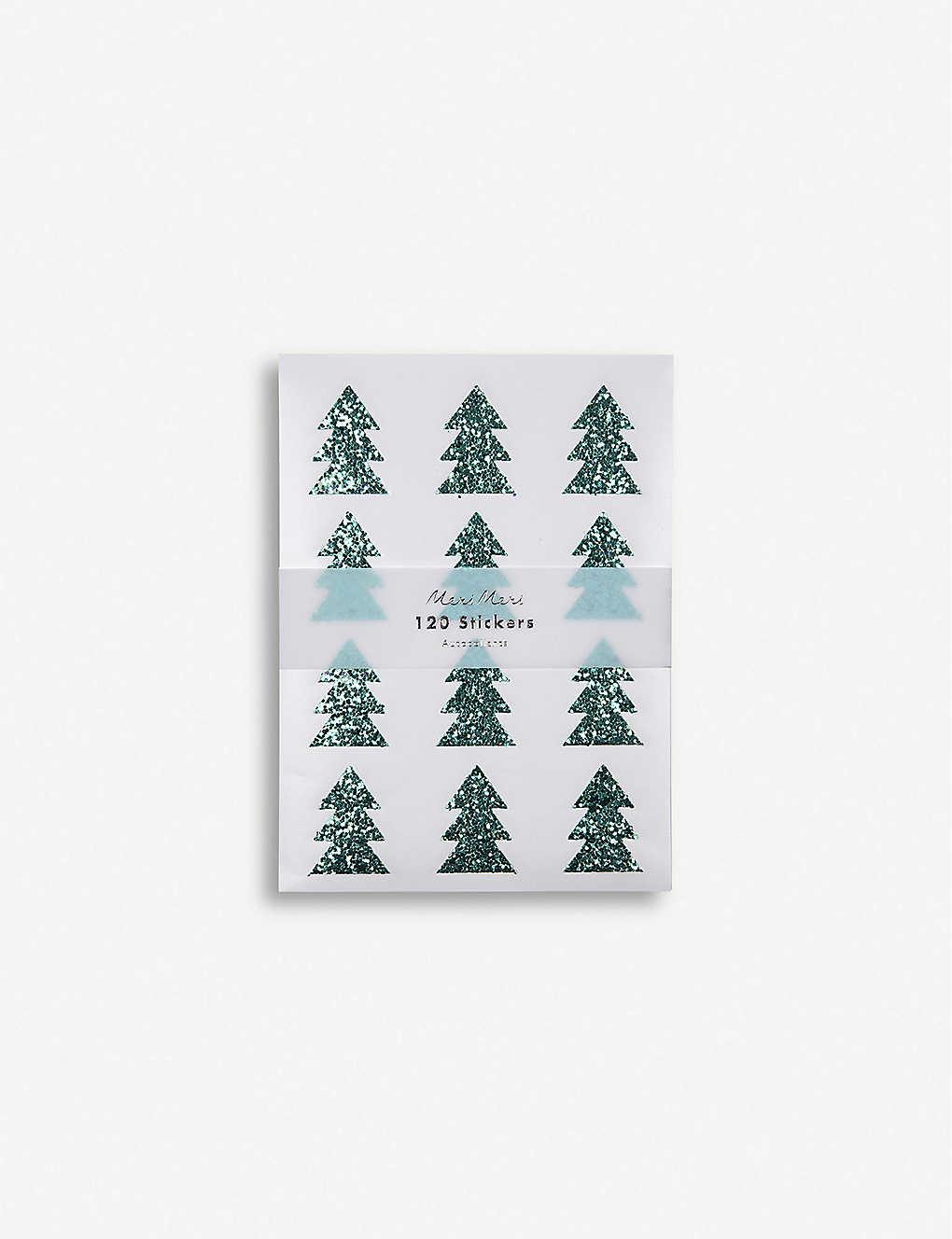 meri meri christmas tree glitter