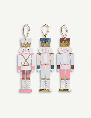 MERI MERI Nutcracker gift tags set of 12