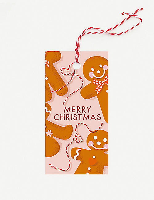 NOI PUBLISHING Gingerbread gift tags pack of 10