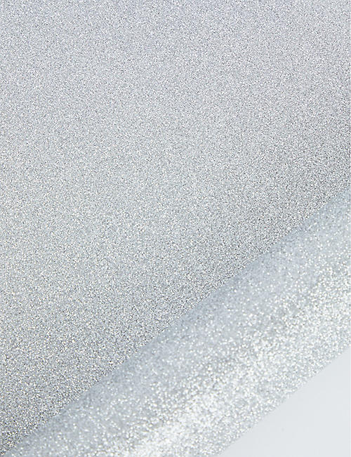 THE UNIQUE PAPER COMPANY Glitter wrapping paper 1.5m