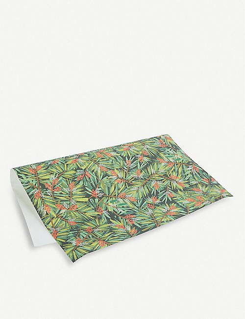 RIFLE PAPER Pine wrapping sheets 50cm x 69cm set of three