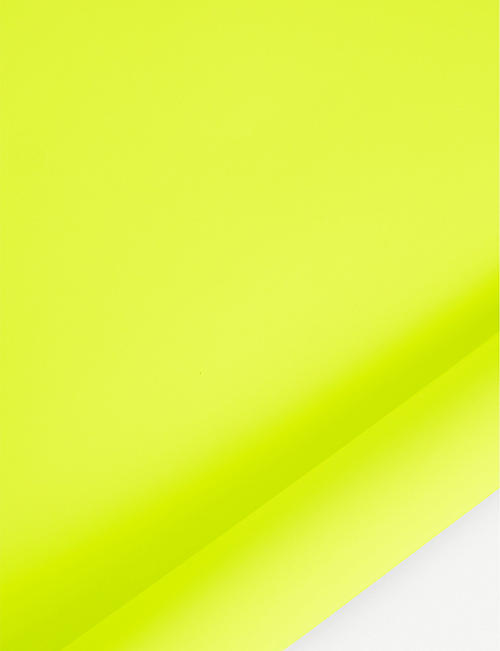 NOT JUST BALLOONS Neon wrapping paper 4m x 70cm
