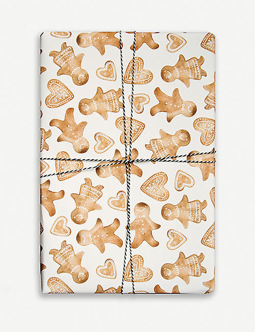 PARADE Gingerbread wrapping paper 50cm x 70cm