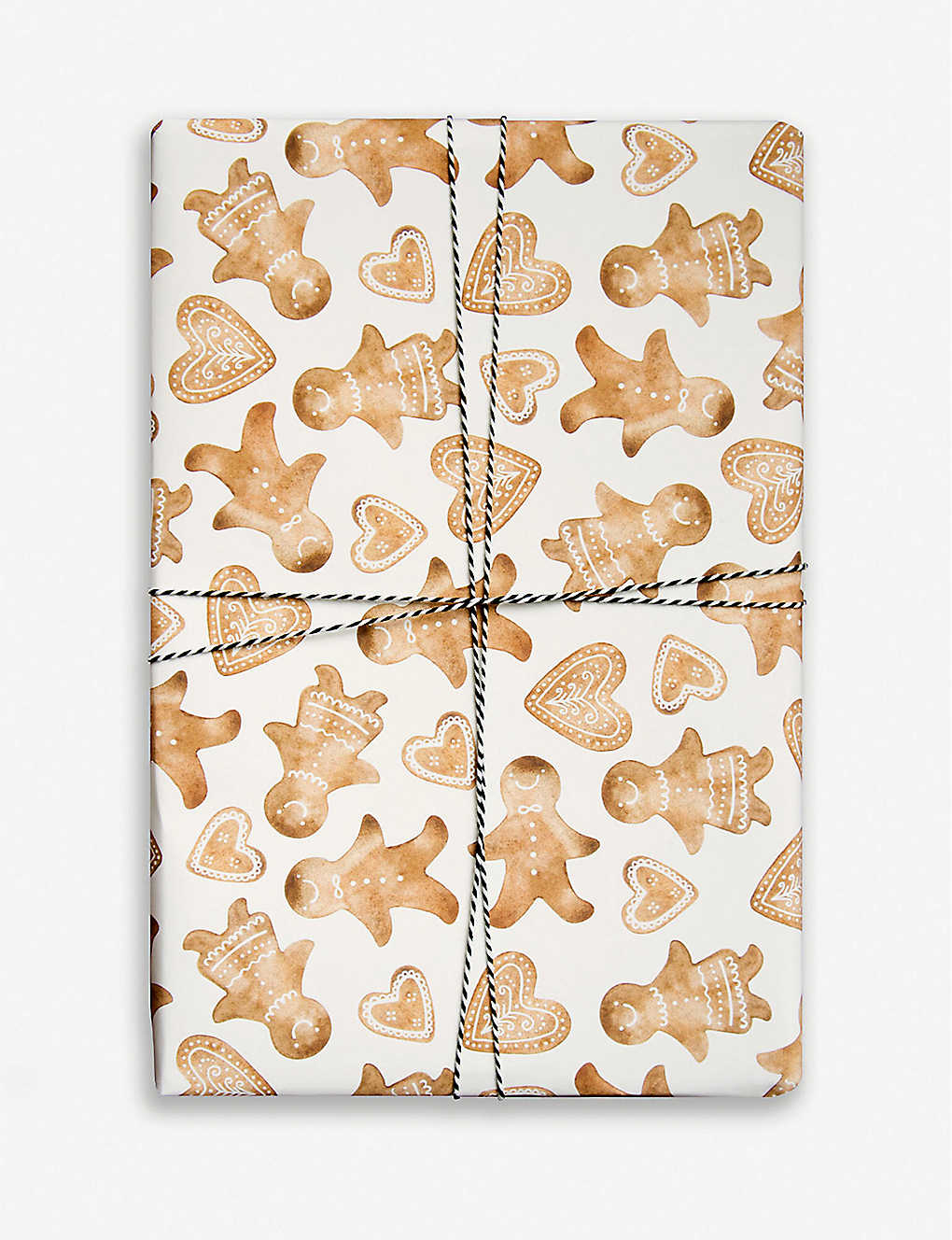 PARADE: Gingerbread wrapping paper 50cm x 70cm