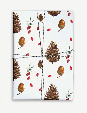 PARADE Pinecones wrapping paper 50cm x 70cm