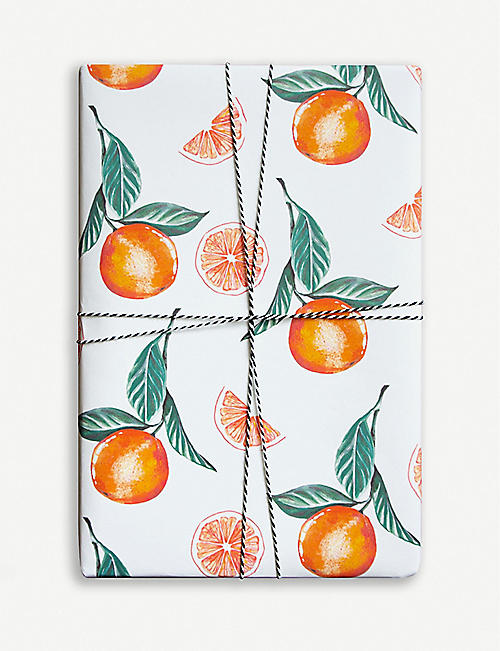 PARADE Oranges wrapping paper 50cm x 70cm