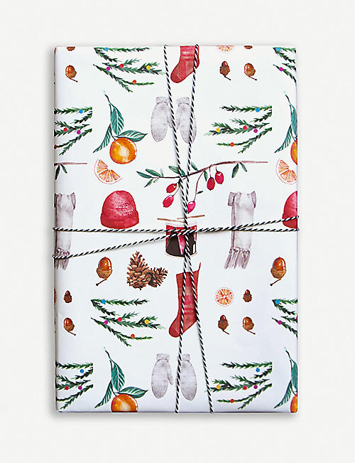 PARADE Christmas wrapping paper 50cm x 70cm