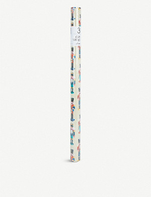 DEVA DESIGNS Nutcracker Christmas wrapping paper 3m