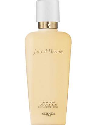 HERMES: Jour d'Hermès perfumed bath and shower gel 200ml