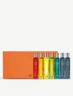 HERMES Nomad eau de colognes set of seven