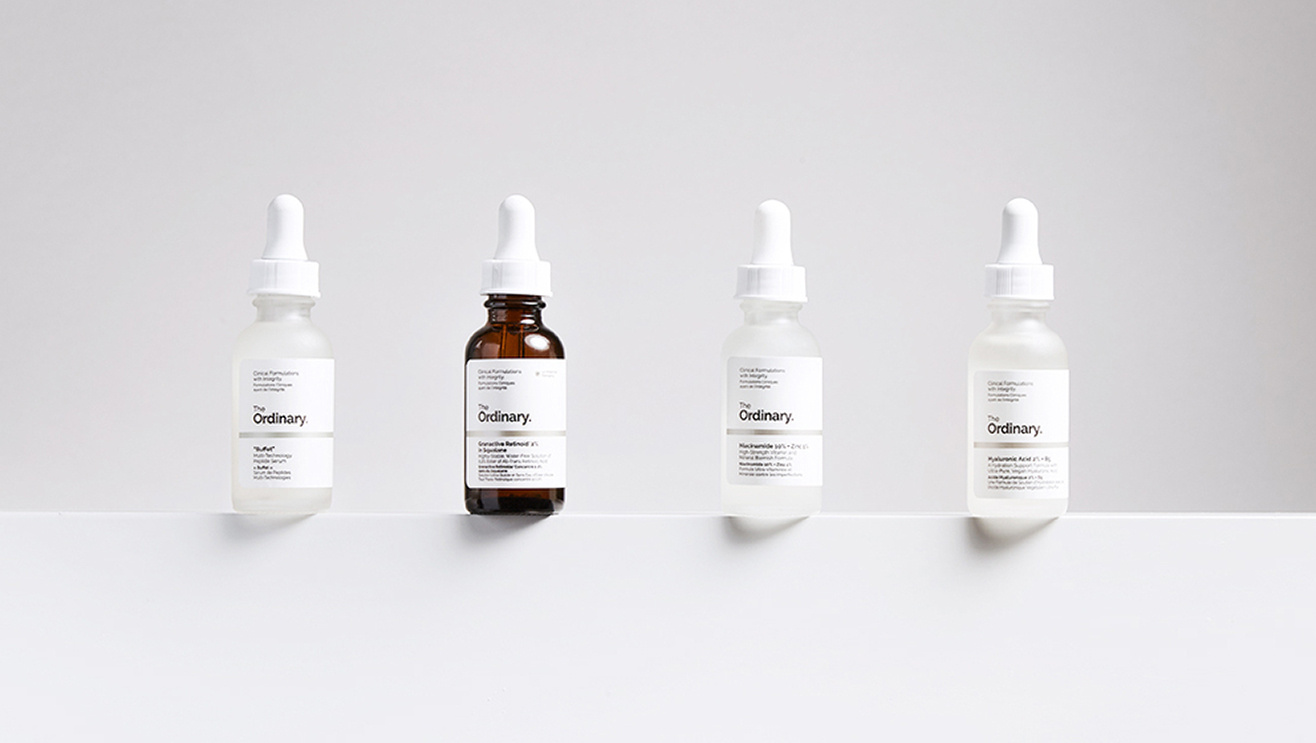 The Ordinary oils and serums