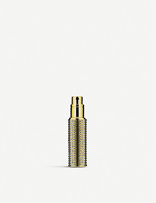 TRAVALO Divine HD Swarovski crystal-embellished perfume atomiser 5ml