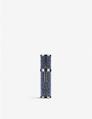 TRAVALO: Moonlight Couture Swarovski-embellished refillable perfume bottle